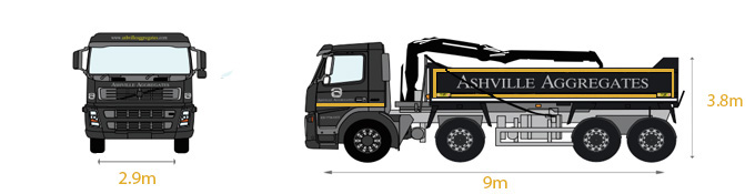 Grab Lorry - Ashville Aggregates