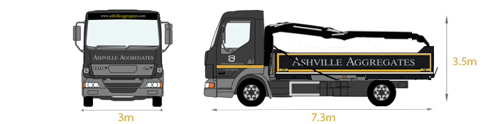 Mini Grab Lorry - Ashville Aggregates